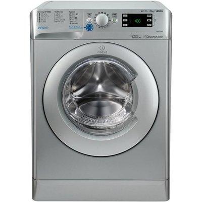 INDESIT Innex BWE 91484X S Washing Machine - Silver, Silver