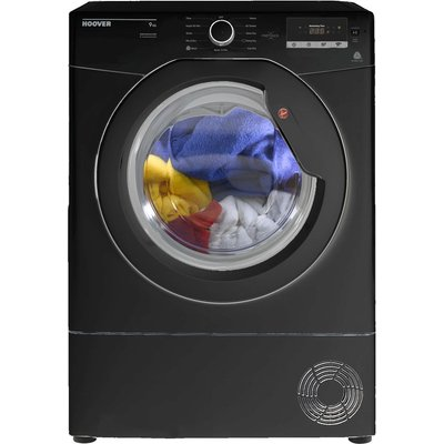 HOOVER Dynamic Next DX C9DGB NFC 9 kg Condenser Tumble Dryer - Black, Black
