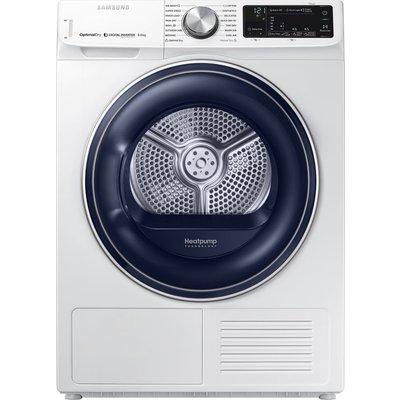 Samsung Tumble Dryer DV80N62532W Smart 8 kg Heat Pump  - White, White