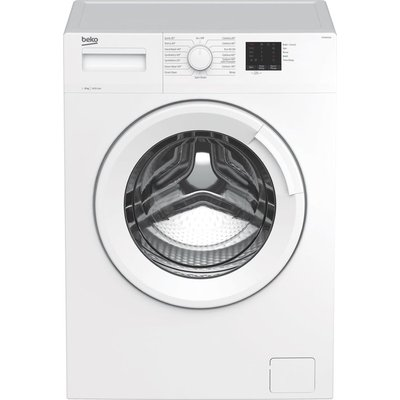 BEKO WTK84011W 8 kg 1400 Spin Washing Machine - White, White