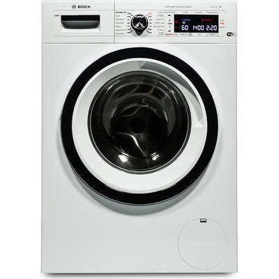 BOSCH Serie 8 i-DOS WAWH8660GB Smart Washing Machine - White, White