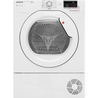 HOOVER Dynamic Next DX C10DG NFC 10 kg Condenser Tumble Dryer - White, White