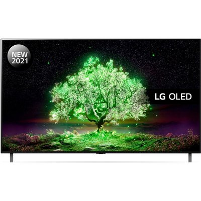 "77"" LG OLED77A16LA  Smart 4K Ultra HD HDR OLED TV with Google Assistant & Amazon Alexa"