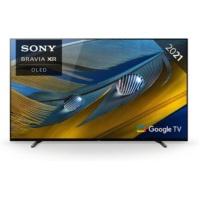 """55"""" SONY BRAVIA XR55A80JU  Smart 4K Ultra HD HDR OLED TV with Google TV & Assistant"""