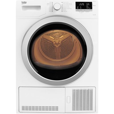 Beko Tumble Dryer DCX93150W Condenser  - White, White