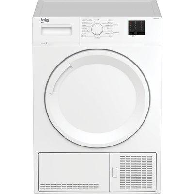 BEKO DTKCE70021W 7 kg Condenser Tumble Dryer - White, White