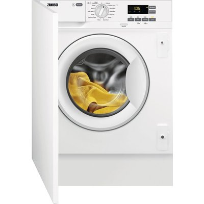 ZANUSSI Z714W43BI Integrated 7 kg 1400 Spin Washing Machine