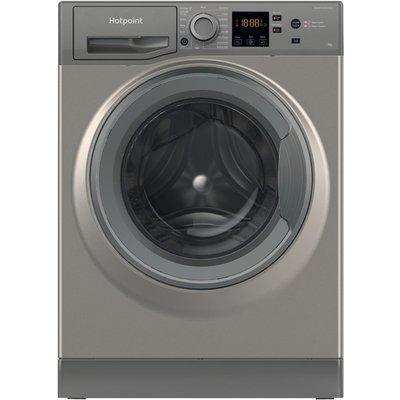 HOTPOINT NSWR 943C GK UK 9 kg 1400 Spin Washing Machine - Graphite, Graphite