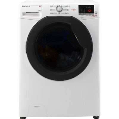 HOOVER Dynamic Next DXOC69AFN NFC 9 kg 1600 Spin Washing Machine - White, White