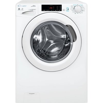 GCSW 496T NFC 9 kg Washer Dryer - White, White