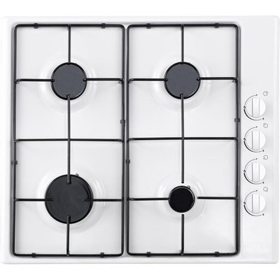 ESSENTIALS  CGHOBW16 Gas Hob   White  White - 5017416567060