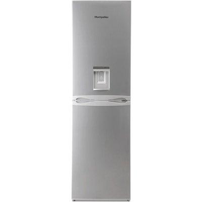 MONTPELLIER MFF183ADX 50/50 Fridge Freezer - Inox
