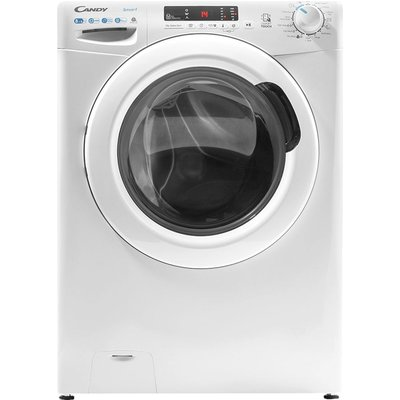 CANDY CSW 4852DE NFC 8 kg Washer Dryer – White, White