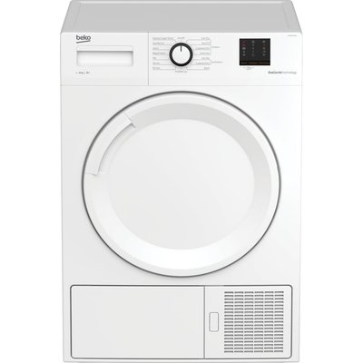 Beko Tumble Dryer DTBP10001W 10 kg Heat Pump  - White, White
