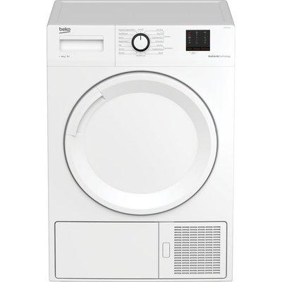 Beko Tumble Dryer DTBP10001W 10 kg Heat Pump  - White, White