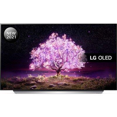 "48"" LG OLED48C14LB  Smart 4K Ultra HD HDR OLED TV with Google Assistant & Amazon Alexa"