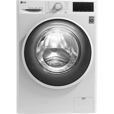 LG F4J608WN NFC 8 kg 1400 Spin Washing Machine - White, White