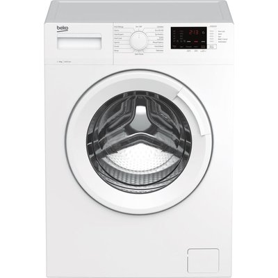BEKO WTK94121W 9 kg 1400 Spin Washing Machine - White, White
