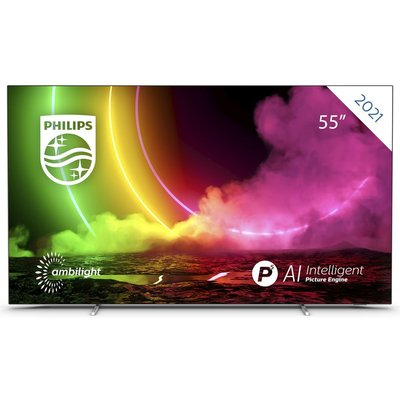 """55"""" PHILIPS 55OLED806/12  Smart 4K Ultra HD HDR OLED TV with Google Assistant"""