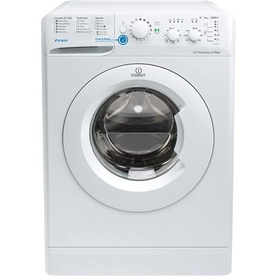 INDESIT Innex BWSC 61252 W Washing Machine - White, White