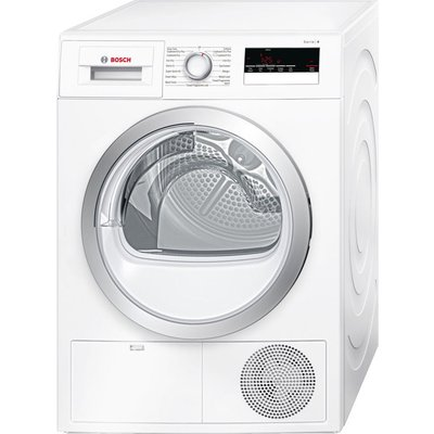 Bosch Tumble Dryer WTN85200GB Condenser  - White, White