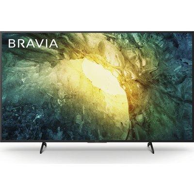 "55"" SONY BRAVIA KD55X7052PBU  Smart 4K Ultra HD HDR LED TV, Sand"