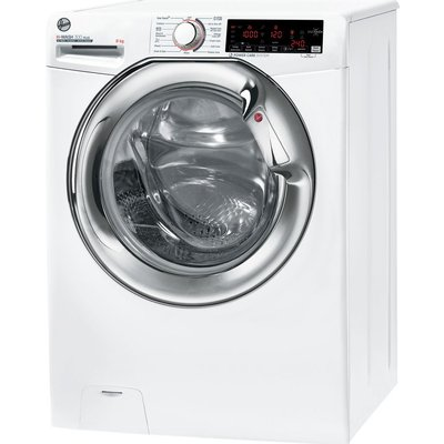 HOOVER H3WA68TAMCE WiFi-enabled 8 kg 1600 Spin Washing Machine - White, White