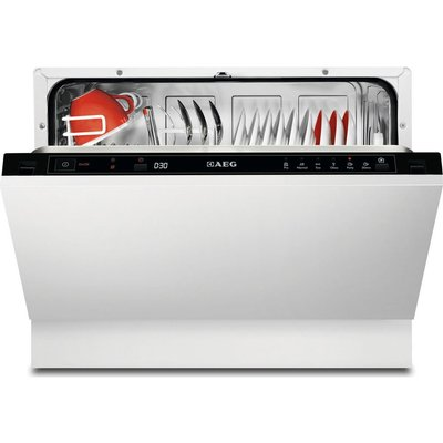 AEG  F55210VI0 Compact Integrated Dishwasher - 7332543467082