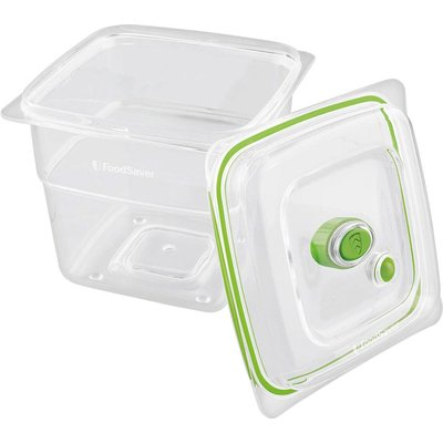 5011773060776 | FOODSAVER Fresh FFC008X 01 Square 1 8 litre Container   Clear