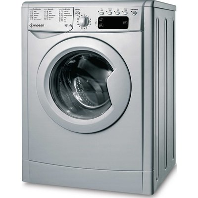INDESIT Ecotime IWDD 75145 S UK N 7 kg Washer Dryer - Silver, Silver