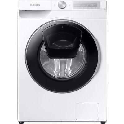 SAMSUNG AddWash WW90T684DLH/S1 WiFi-enabled 9 kg 1400 Spin Washing Machine - White, White