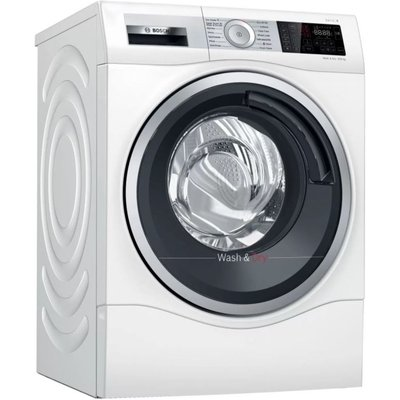 BOSCH Serie 6 WDU28561GB 10 kg Washer Dryer - White, White