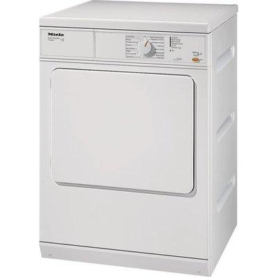 MIELE T8302 Vented Tumble Dryer - White, White