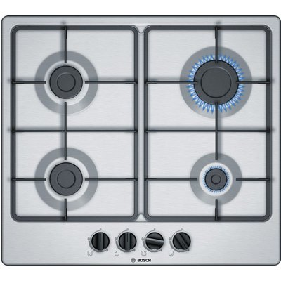4242002955346 | Bosch PGP6B5B60 Gas Hob  Stainless Steel