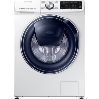 Samsung AddWash WW10N645RPW/EU Smart 10 kg 1400 Spin Washing Machine - White, White