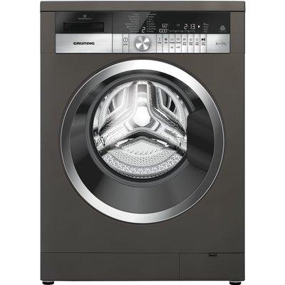 Grundig GWN48430CG 8 kg 1400 Spin Washing Machine - Graphite, Graphite