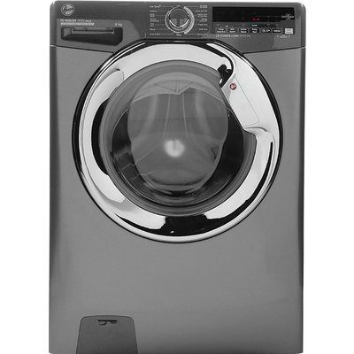 HOOVER H-Wash 300 H3WS69TAMCGE NFC 9 kg 1600 Spin Washing Machine - Granite