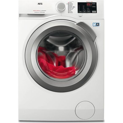 AEG ProSense L6FBI842N 8 kg 1400 Spin Washing Machine - White, White