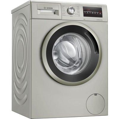 BOSCH Serie 4 WAN282X1GB 8 kg 1400 Spin Washing Machine - Silver Inox, Silver