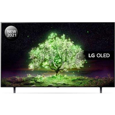 "65"" LG OLED65A16LA  Smart 4K Ultra HD HDR OLED TV with Google Assistant & Amazon Alexa"