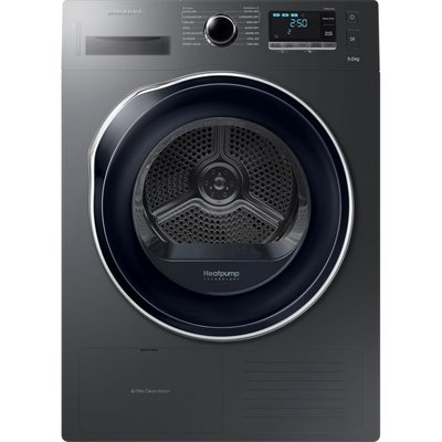 Samsung Tumble Dryer DV90M5000QW/EU 9 kg Heat Pump  - Graphite, Graphite