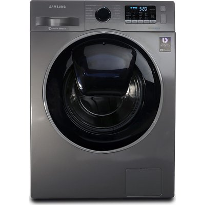 SAMSUNG AddWash? WW90K5410UX/EU Washing Machine - Graphite, Graphite