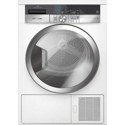 Grundig Tumble Dryer GTN38267GCW Heat Pump  - White, White