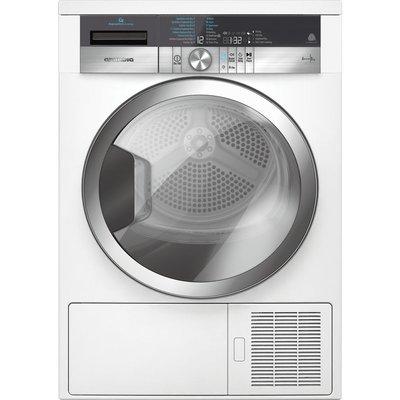 GRUNDIG ExpressDry GTN38267GCW Heat Pump Tumble Dryer - White, White