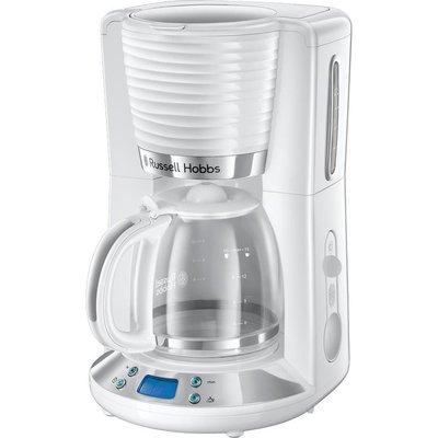 RUSSELL HOBBS Inspire 24390 Filter Coffee Maker   White  White - 4008496972692