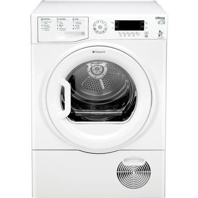 Hotpoint Tumble Dryer Ultima S-line SUTCDGREEN9A1 Heat Pump  - White, White