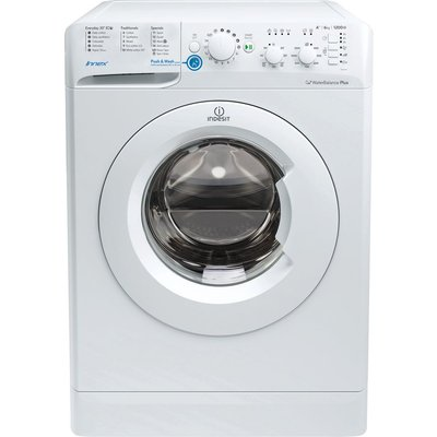 INDESIT BWC 61452 W 6 kg 1400 Spin Washing Machine - White, White