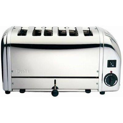 DUALIT  Vario 378701 6 Slice Toaster   Stainless Steel  Stainless Steel - 0619743601445
