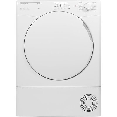 Hoover Tumble Dryer Link HLC10LF Smart NFC 10 kg Condenser  - White, White