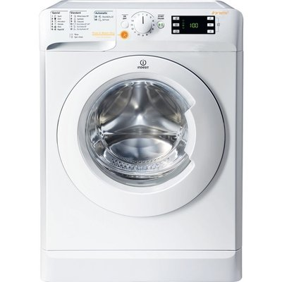 INDESIT Innex XWDE 1071681X W 10 kg Washer Dryer - White, White